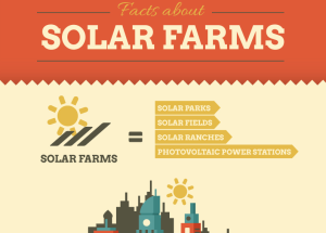 Infographic Solar Farms